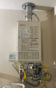 Always Hot Tankless Water Heater